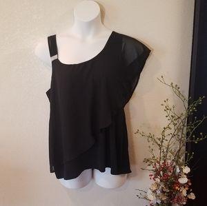 Belldini Black Blouse XL